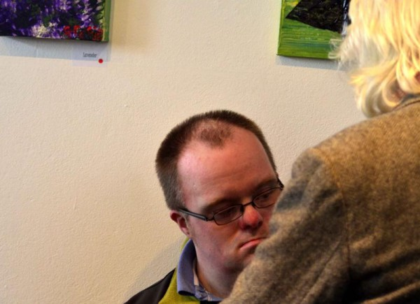 Gracies Art show Allihies Mine Museum