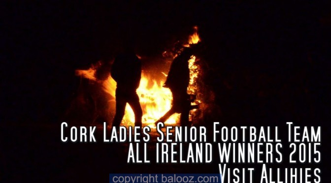 Cork Ladies Senior Football Team visit Allihies
