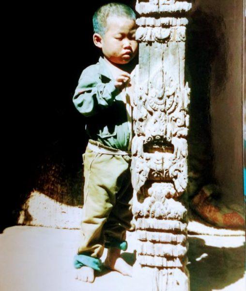 Little boy, Kathmandu