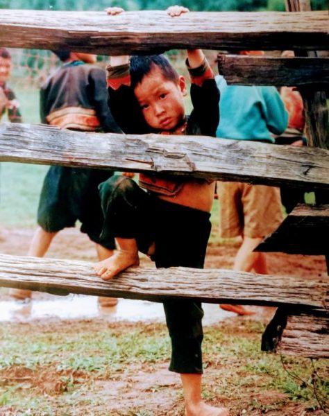 Tribal boy, Golden Triangle, Thailand