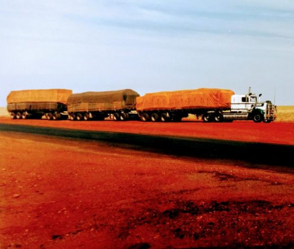 Road Trains , Northern Territory, Australia