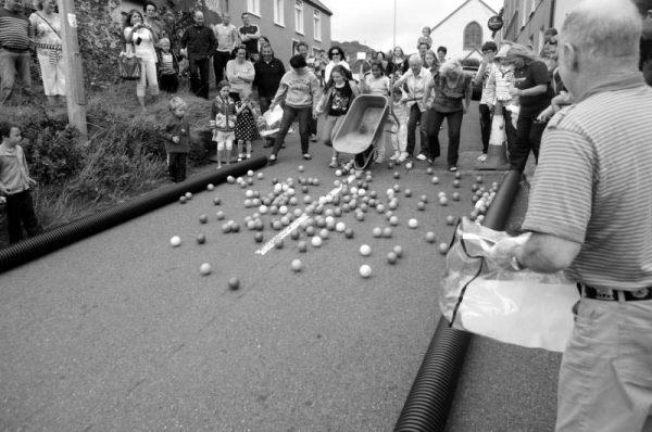 Ball run Allihies Festival