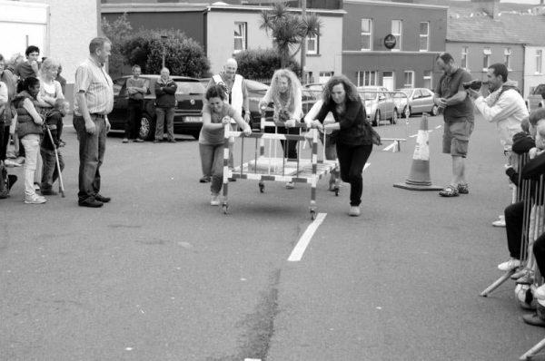 Bed push Allihies Festival 2012