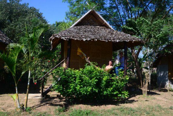 Le hut de Antoine et Manon