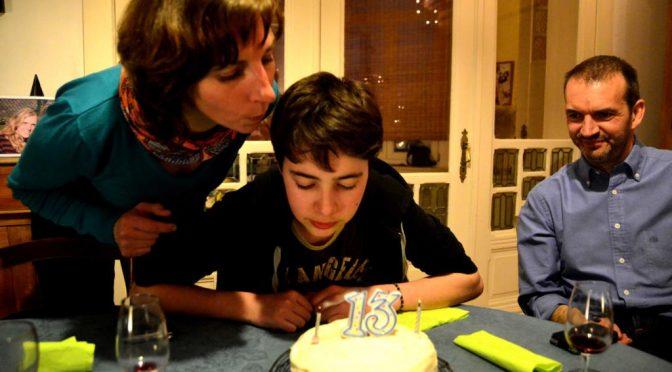 13 ans de Auguste