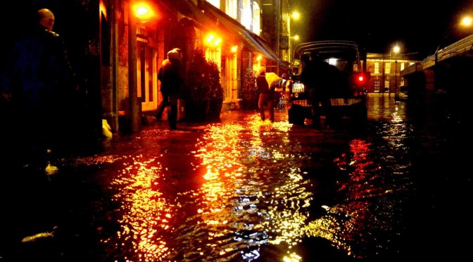 Cork city floods