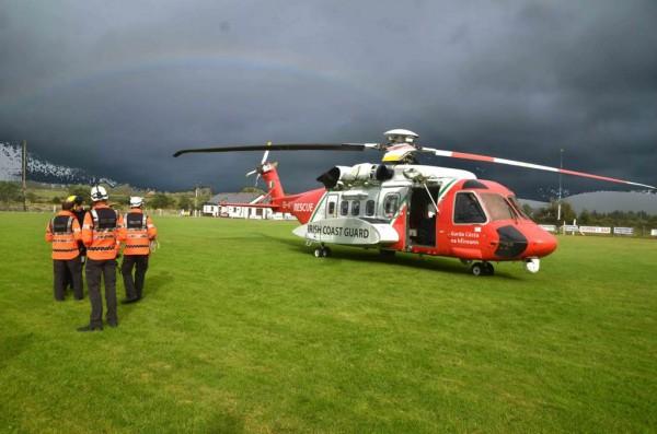 Castletownbere Coastguard Shannon Helicopter