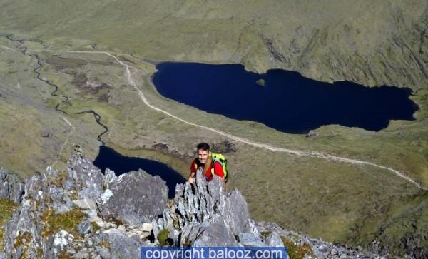 climb carrauntoohil howling ridge john