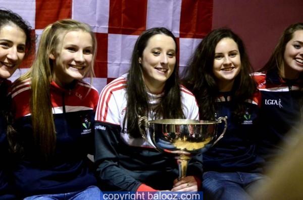 Cork Ladies Senior Football Team visit Allihies