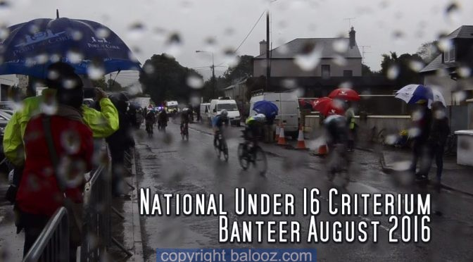 Neil cycling Irish Nationals