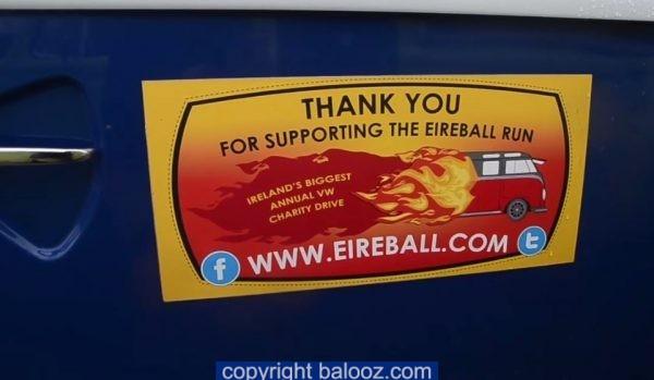 Eireball Charity Run visits Lehanmore