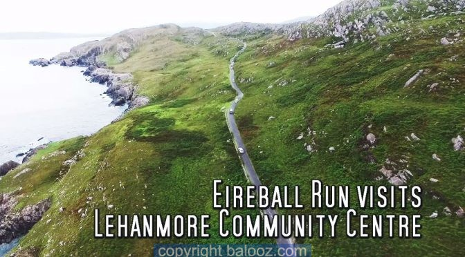 Eireball Charity Run visits Lehanmore