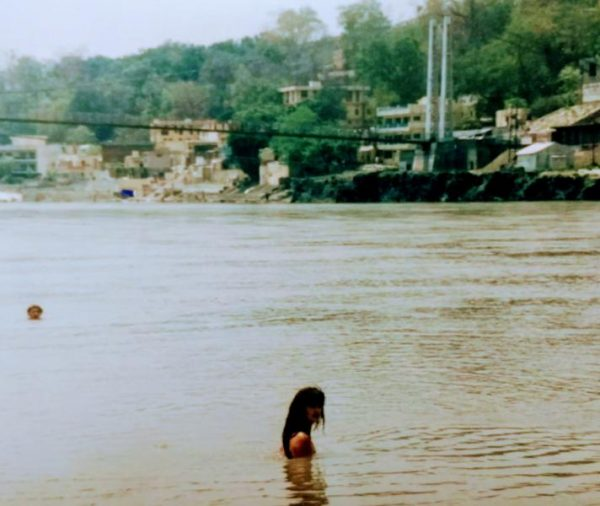 Ganges Swimming, Rishikesh