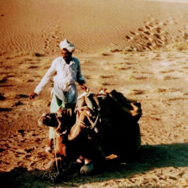 Camel safari, Jaiselmer
