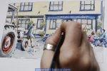 Nadette Charlet Time Lapse Illustration