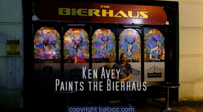 Christmas Windows Ken Avey