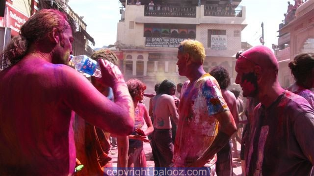 Holi festival in Pushkar