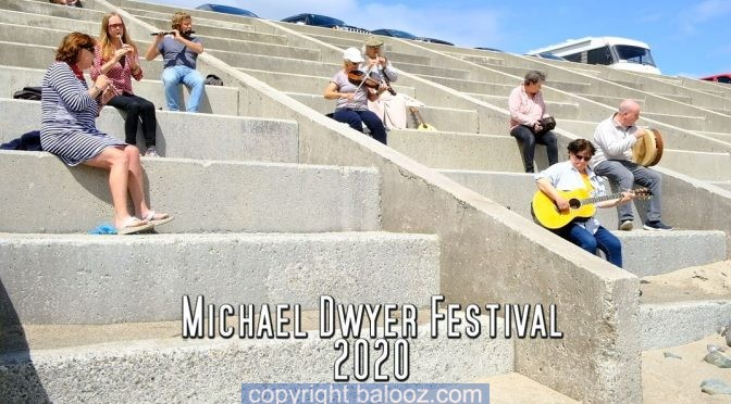 Michael Dwyer 2020 on the Beach