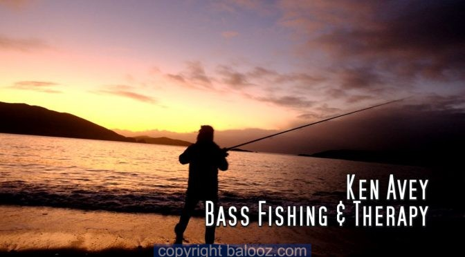 An evenings Bass fishing with Ken